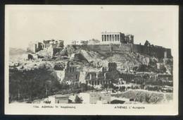 Atenas. *L'Acropole* Circulada 1953. - Grecia