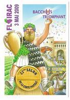 Illustrateur Bernard Veyri Caricature Floirac Bacchus Triomphant - Veyri, Bernard
