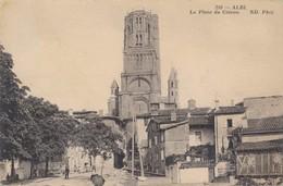 CPA - France - (81) Tam - Albi - La Place Du Coteau - Albi