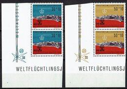 Liechtenstein 1960 // Mi. 389/390 ** Paare - Liechtenstein
