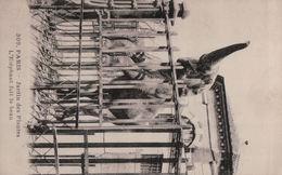 5090A   PARIS   ELEPHANT  ECRITE - Éléphants
