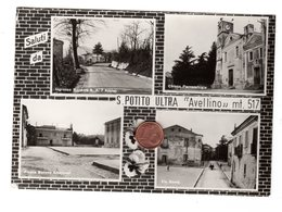 D0098 AVELLINO VEDUTE VEDUTINE SALUTI DA S. POTITO ULTRA - Avellino