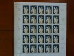 Planche De 25 Timbres Oeuvre De Dominique Ingres N°1530 - Ongebruikt