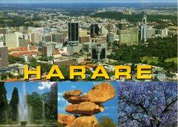 ZIMBABWE. Carte Postale Ayant Circulé. Harare. - Zimbabwe