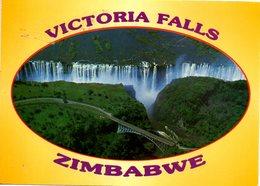 ZIMBABWE. Carte Postale Ayant Circulé. Victoria Falls. - Zimbabwe