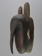 "Ligbi Masque De Zoomorphic ""Hornbill"", Djimini Mask; Côte-d'Ivoire / Elfenbeinküste / Ivory Coast - Art Africain"
