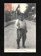 Cpa....Beauvais....(environs)...scènes Et Coutumes....un Faucheur.......animée...1916.... - Beauvais