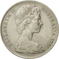 Monnaie, Australie, Elizabeth II, 10 Cents, 1981, Melbourne, TTB, Copper-nickel - 1855-1910 Monnaie De Commerce