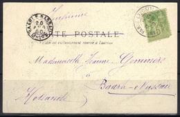 Oblitération Paris Exposition Invalides Sur CP Pour Baarle-Nassau (Hollande). - Postmark Collection (Covers)