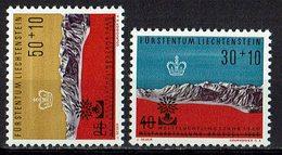 Liechtenstein 1960 // Mi. 389/390 ** - Liechtenstein