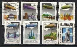 Hungary 1981. Zeppelin Aviation Nice Set, Used ! - Ungarn