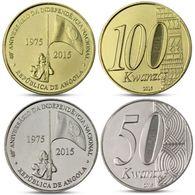 Angola 2015 50 Et 100 Kwanzas UNC - Angola