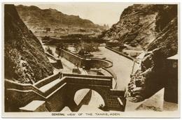 General View Of The Tanks Aden Yemen Real Photo Unused - R Benghiat - Yemen