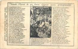 75 - ANCIEN PARIS - Portrait Du Seigneur Messire Quincampoix - Moeurs Et Coutumes 346 - France