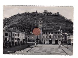 D0115 VICENZA MAROSTICA PIAZZA E CASTELLO SUPERIORE - Vicenza