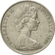 Monnaie, Australie, Elizabeth II, 20 Cents, 1976, Melbourne, TB+, Copper-nickel - 1855-1910 Monnaie De Commerce