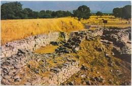 Canakkale, Troya Yikilari, The Remains Of Troy, Turkey, 1978 Used Postcard [22003] - Turkey