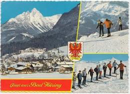 Grusse Aus Bad Haring, Tirol, Austria, 1973 Used Postcard [22004] - Kufstein