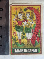 Etiquette De Boite D'allumette JAPON  B Fée Matchbox Label Fairy Pixie From JAPAN Matches - Matchbox Labels