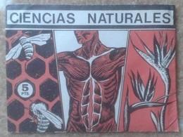 SPAIN. ANTIGUO SOBRE DE CROMOS SIN ABRIR CERRADO IDEAL COLECCIÓN CIENCIAS NATURALES DE CROMOS S.A. CROMO NATURAL SCIENCE - Documentos Antiguos