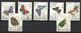 Hungary 1984. Animals / Butterfly / Insects Nice Set, Used ! - Farfalle