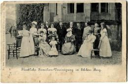 Luxembourg Fürstliche Familien Vercinigung In Schloss Berg 1900 - Grand-Ducal Family