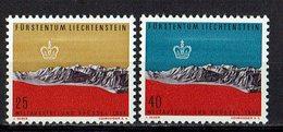 Liechtenstein 1958 // Mi. 369/370 ** - Liechtenstein