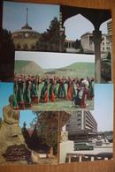 Russian Asia. Ashgabat / Ashkhabad. Big Lot - 18 Postcards - 1984 - Turkmenistan