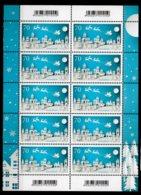 2018 Germany - Christmas Winter Santa At Sledges- Sheetlet 10 V Paper  -MNH** 3421 - Unused Stamps