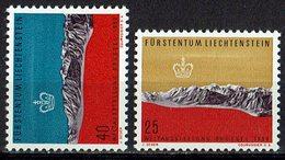 Liechtenstein 1958 // Mi. 369/370 ** (030..350) - Liechtenstein