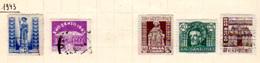 1940-61   Espagne, Franco, Antituberculeux, Année Sainte, Célébrités Etc, Entre 705 Et 1006, Cote 40 € - 1931-50 Oblitérés