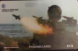 Paco \ ISOLE FALKLAND \ 219CFKA \ Raf Regiment Rapier FSC \ Usata - Falkland Islands