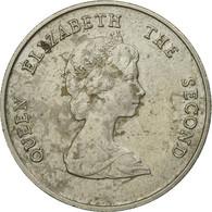 Monnaie, Etats Des Caraibes Orientales, Elizabeth II, 25 Cents, 1986, TTB - Caraïbes Orientales (Etats Des)