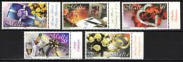 MALTA - 2000 - FRANCOBOLLI AUGURALI: BUON COMPLEANNO, SAN VALENTINO, MATRIMONIO  - MNH - Malta