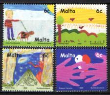 MALTA - 2000 - IL FUTURO DEI FRANCOBOLLI - CONCORSO INTERNAZIONALE PER RAGAZZI - MNH - Malta