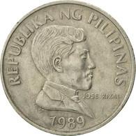 Monnaie, Philippines, Piso, 1989, TB+, Copper-nickel, KM:243.1 - Philippines