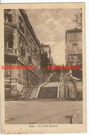 POLA - VIA DELLA SPECULA F/PICCOLO VIAGGIATA 1930 ANIMATA - Trieste