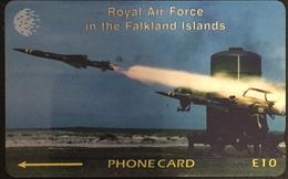 Paco \ ISOLE FALKLAND \ 59CFKA \ Royal Air Force - RAF Regiment Rapier \ Usata - Falkland Islands