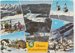 Planai, Schladminger, Austria, 1973 Used Postcard [22006] - Schladming