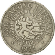 Monnaie, Philippines, 25 Sentimos, 1981, TB+, Copper-nickel, KM:227 - Philippines