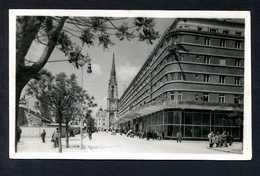 Ujvidék. *Tanurdzsics Palota* Ed. M.F.J. Nº 2746. Circulada Sin Sello En 1943. - Hungría