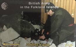 Paco \ ISOLE FALKLAND \ 59CFKB \ British Army - Royal Engineers \ Usata - Falkland Islands