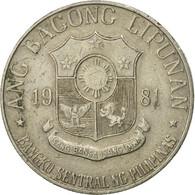 Monnaie, Philippines, Piso, 1981, TB+, Copper-nickel, KM:209.2 - Philippines