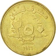 Monnaie, Lebanon, 250 Livres, 1996, TB+, Aluminum-Bronze, KM:36 - Liban
