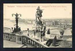 Budapest. *Burggaten Mit Blick Auf Die Donau* Ed. Taussig. Nueva. - Hungría