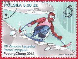 K 2018.03.01. XII Paralympic Winter Games PyeongChang 2018 - USED - Usados