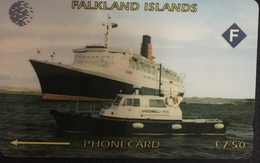 Paco \ ISOLE FALKLAND \ 3CWFA \ Queen Elizabeth 2 \ Usata - Falkland