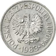 Monnaie, Pologne, 50 Groszy, 1983, Warsaw, TTB, Aluminium, KM:48.1 - Pologne