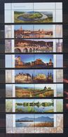 Germany Allemagne 16 X Panorama Landscape / ** MNH Self Adhesive - Geographie