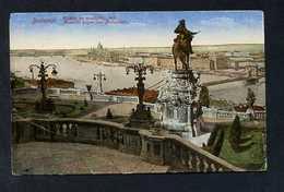 Budapest. *Aussicht Gegen Das Parlament* Circulada 1921. - Hungría